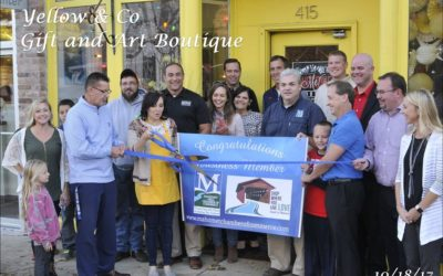 Yellow & Co Boutique Ribbon Cutting Mahomet